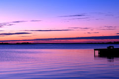 кренит наружный восход солнца Стоковые Фотографии RF