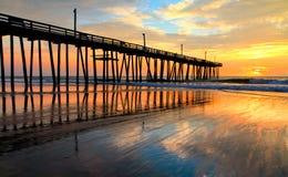 кренит наружный восход солнца Стоковое Изображение