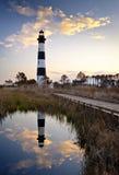 кренит парк маяка острова bodie национальный наружный стоковое фото rf
