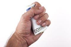 100 кренов евро Стоковое Изображение