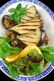 крены говядины aubergine Стоковая Фотография
