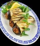 крены говядины aubergine Стоковое Изображение RF