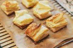 Крены печенья слойки Стоковая Фотография RF