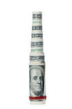 крены пирамидки доллара финансовохозяйственные Стоковые Фото