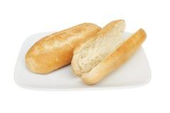 крены хлеба стоковое изображение