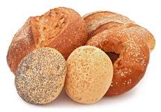 крены хлеба bagel стоковое изображение rf
