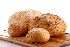 крены хлебцев технологического комплекта хлеба Стоковые Изображения