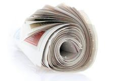 крен газеты Стоковое Изображение RF