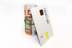 крен дег кредита карточки Стоковые Фотографии RF