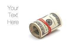 крен доллара счетов Стоковая Фотография RF