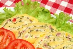 крен еды сыра Стоковые Изображения RF