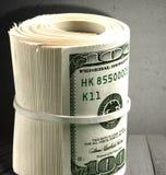 Крен денег Стоковое Изображение RF