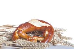 Крендель с пшеницей стоковые изображения rf