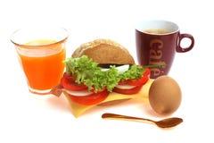 крен завтрака хлеба Стоковое Фото