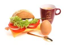 крен завтрака хлеба Стоковые Изображения