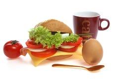 крен завтрака хлеба Стоковые Фото