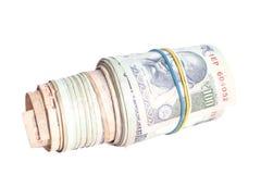 Крен индийских рупий Стоковая Фотография RF