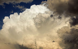Крен облаков шторма внутри Стоковые Фото