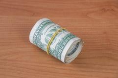 Крен одной деньг доллара Стоковое Изображение