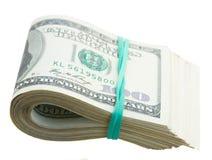 Крен долларов Стоковое Изображение RF