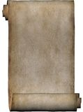 крен пергамента рукописи Стоковые Изображения