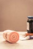 крен повязки медицинский Стоковое Фото