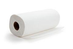 Крен полотенца белой бумаги Стоковые Изображения RF