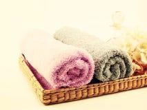 Крен полотенца Стоковая Фотография