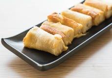 крен сыра хлеба Стоковое Изображение