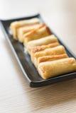 крен сыра хлеба Стоковые Фото