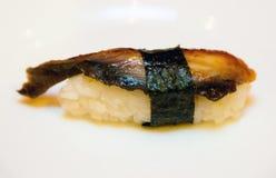 Крен с рыбами стоковое фото rf