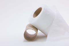 Крен туалетной бумаги Стоковое фото RF