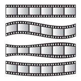 Крен фильма, фильм 35mm, комплект рамки фильма скольжения Недостаток и прокладка Стоковое Изображение
