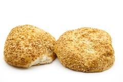 Крен хлеба сезама Стоковая Фотография