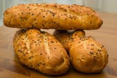 крен хлеба стоковое изображение
