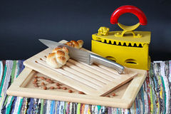 крен хлеба Стоковая Фотография RF