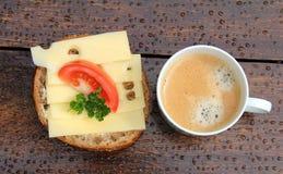 Крен хлеба сыра Стоковые Изображения