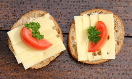 Крен хлеба сыра Стоковые Фотографии RF