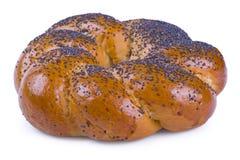 Крен хлеба с маковыми семененами Стоковое фото RF
