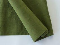 Крен linen ткани Стоковые Фото