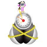 Крепко потерять вес Стоковая Фотография RF