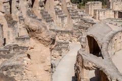Крепостная стена античного замка Стоковое Фото