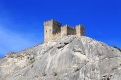 Крепостная стена и башни стоковое фото