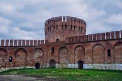 Крепостная стена Смоленска стоковое фото