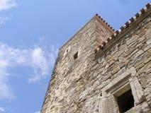крепостная стена Стоковая Фотография