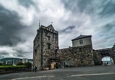 Крепость Бергена Стоковые Фото
