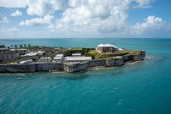 Крепость Бермудских Островов стоковое изображение