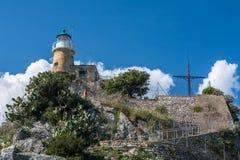 Крепость в городе Корфу, Греции Стоковое Фото