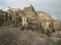 Крепость в Тбилиси Стоковое фото RF