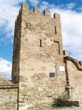 Крепость в Sudak Стоковая Фотография